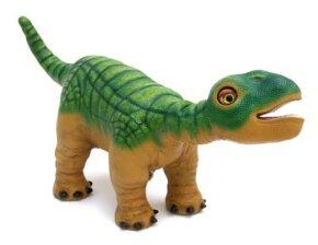 An earlier version of Pleo --