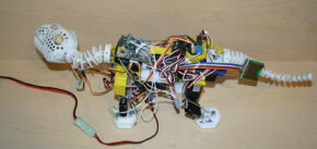 Pleo's internal sensors and circuitry