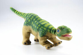 Pleo is a little more playful than a real Camarasaurus probably would have been.