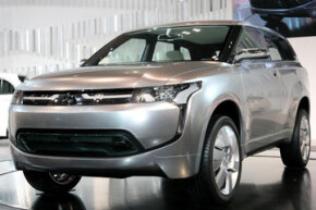 New Mitsubishi Motors Corp.'s concept plug-in hybrid electric vehicle (PHEV) 'PX-MiEV' is displayed during the Tokyo Motor Show at Makuhari Messe in Chiba, Japan. See pictures of plug-in hybrid cars.