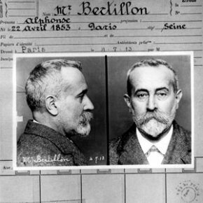 French criminologist Alphonse Bertillon, father of criminal anthropometry.