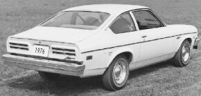 looked similar to this 1976 Pontiac Astre model.
