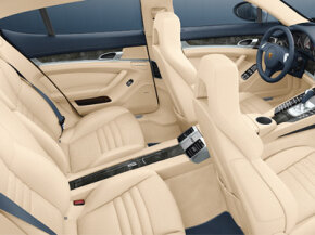 The Porsche Panamera allows the driver to share the Porsche sports car experience with up to three other passengers.