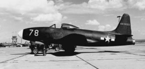 The Lockheed XP-80 was the first operational jet fighter. See more flight pictures.