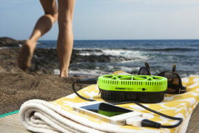 With fuel cells, the beach itself can fuel your phone.