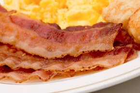 In the 1920s, Bernays got thousands of doctors to say that a heavier breakfast was a healthier breakfast — and bacon and eggs was just the ticket. We've been hooked ever since.