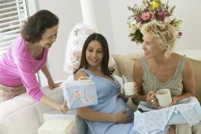 Your mother's pregnancy and yours are not necessarily going to be alike -- genetics plays no role here.