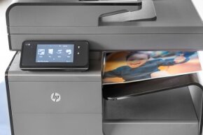 Multi-function devices like this one, which can print, fax and scan, are moving into the spaces once held by stand alone printers.