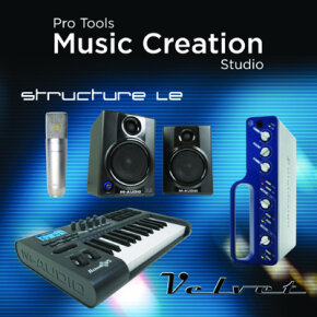Pro Tools' software programs like its LE system is good for home studios.