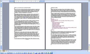 Microsoft Word allows users to create and edit documents.