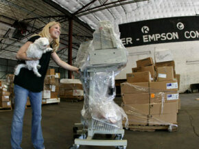 James Jackson's Project C.U.R.E. sends medical supplies all over the world.