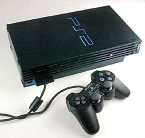The standard Sony PlayStation 2 controller has 15 buttons. See more video game system pictures.