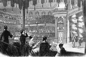 Once he got into politics, Barnum used his museum to stage speeches and other events.