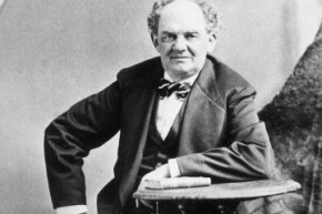 Phineas Taylor Barnum was a man of contradictions -- and stern facial expressions.