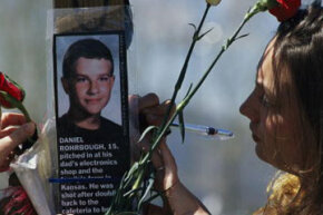 Seventy percent of Americans have endured a traumatic experience. Here, survivors of the 1999 Columbine High School shootings in Colorado remember one of the students killed that day.