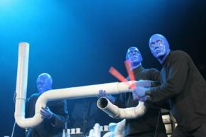 Members of the Blue Man Group use PVC pipe as a percussion instrument during a performance.  That's just one use of this versatile material.  We've got many others.