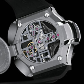 The C1 QuantumGravity watch may be large, but the mechanisms used to power the watch are quite tiny.