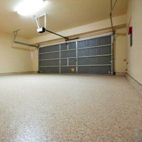 Empty garage.