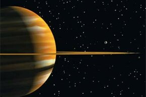 Would you believe that diamond rain might fall on Saturn?