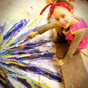 Eight-year-old Autumn de Forest is a prodigy artist whose paintings have sold for as much as $25,000, but she also attends school and loves to play with Barbie dolls.