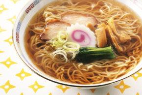 Dashi fish stock often flavors Japanese ramen broth.