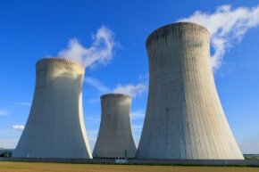 If we ran out of fossil fuels, the relatively cheap and efficient alternative would likely be nuclear power.