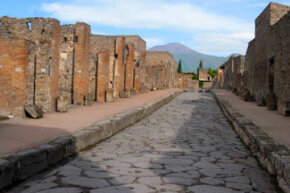 "Pompeii, Italy (shown above), was an incredible archeological find, a city frozen in time. Researchers looking for ancient Helike hoped to find a ""Greek Pompeii"" in the city. They found that and a ""Bronze Age Pompeii"" as well."