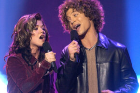 """Kelly Clarkson and Justin Guarini were on the first season of """"American Idol."""" You see how they cast that show, but what about others?"""