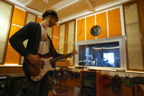Rock music recording sessions are often more loosely organized than other sessions.