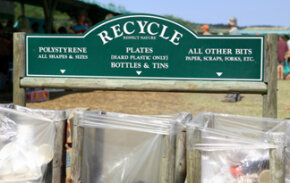 Polystyrene is easily recycled, but does the cost outweigh the benefit? Check out these green science pictures!