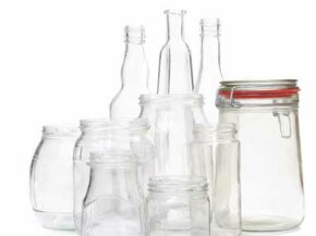 With a little work and some creative inspiration, these glass jars could become beautiful hanging lanterns.
