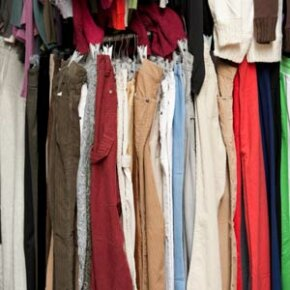 Too many pants crowding your closet? You could recycle them to make decorative pillows or a fun bag.