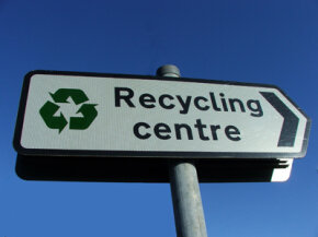 Be on the lookout for recycling centers in your area.