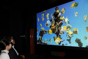 Refresh rates are really important for 3-D television technology.