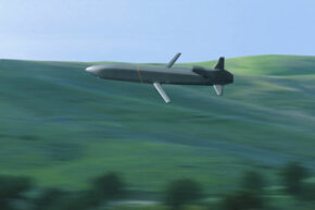 Remotely controlled cruise missiles can destroy targets hundreds of miles away from their launch point.