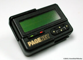 A Motorola pager