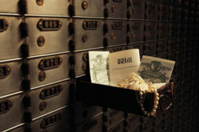 After you fix your family pictures, it's important to store them properly. A safe-deposit box is a great option.