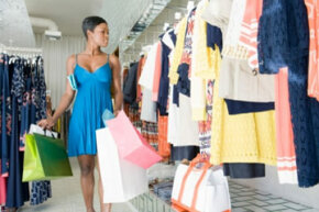 Your clothes shopping habit can really strain your wallet over time -- but it doesn't have to.