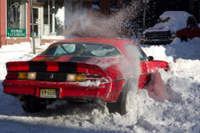 Winter driving is always risky -- but a good set of snow tires can make a big difference.