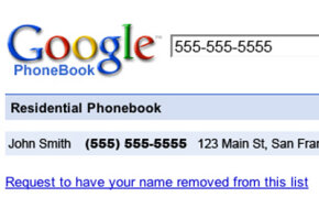 Google Phonebook has a reverse directory feature, which shows a name and address for phone numbers.