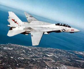 The Grumman F-14 Tomcat is a supersonic fighter plane with variable wing geometry. It was the Navy's primary aircraft for more than 30 years. See more pictures of flight.