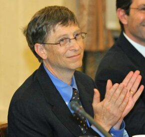 Bill Gates retired from Microsoft to focus on his charitable foundation, the largest in the world.