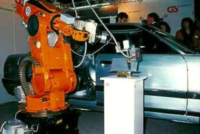 Robotic arms are an essential part of car manufacturing.
