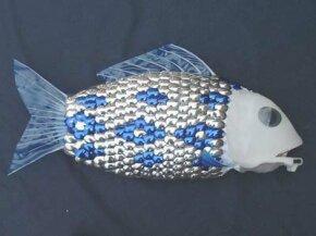 The University of Essex's 5-foot (1.5-meter) robotic fish can travel at speeds of 2.25 miles per hour (3.62 kilometers per hour).