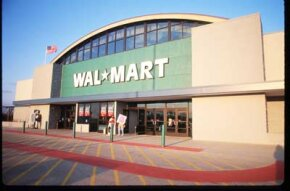 Wal-Mart's 'Eco-Mart' was designed to significantly increase worker productivity and uses energy efficient lighting, heating and recycled goods.