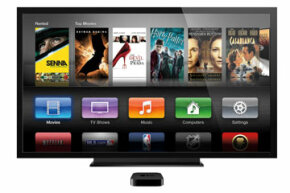 Apple TV is one of Roku's competitors, but as of March 2014, they don't offer a product comparable in size to the Roku Streaming Stick.