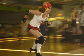 Roller derby was inspired by the fascination of watching skaters collide during races. See more extreme sports pictures.
