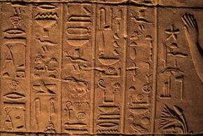 Egyptian hieroglyphics puzzled centuries of scholars.
