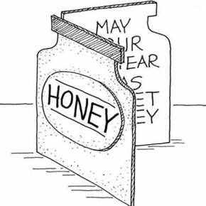 Send out honey cards at Rosh Hashanah to wish all your friends and family a sweet year.