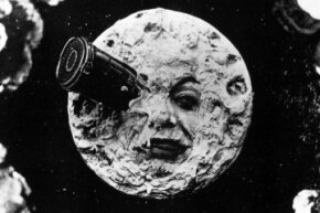 "The  1902 Georges Méliès  film ""Le Voyage Dans la Lune"" features some of the first special effects ever captured on film."